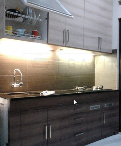 Tempat pesan kitchen set kitchen set bintaro for Harga kitchen set aluminium per meter
