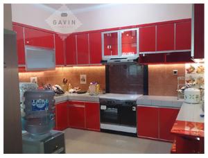 Harga Kitchen Set Dengan Bahan HPL