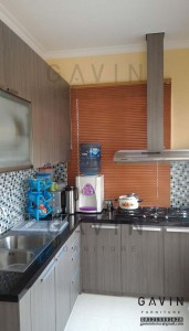 Kitchen Set Murah  Dengan Finishing HPL