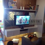 Backdrop Tv Dengan Kombinasi Cermin