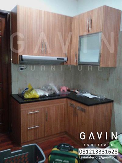 Harga Kitchen Set  Mungil Bahan HPL