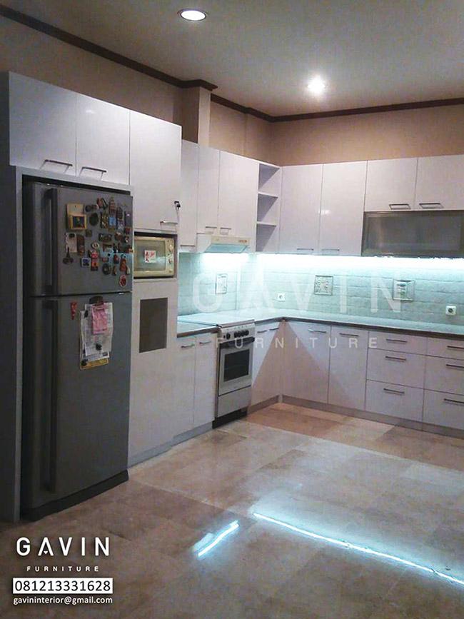 Model Kitchen Set Dengan Kabinet Kulkas Kitchen Set Bintaro