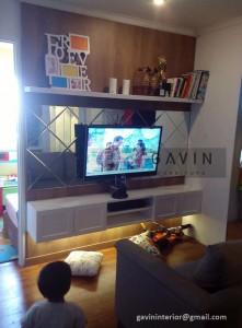 Backdrop Tv Dengan Pemesanan Custom