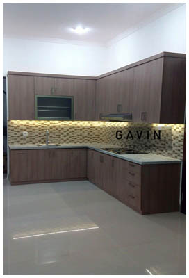 Kitchen Set Minimalis Model Letter L Kitchen Set Bintaro