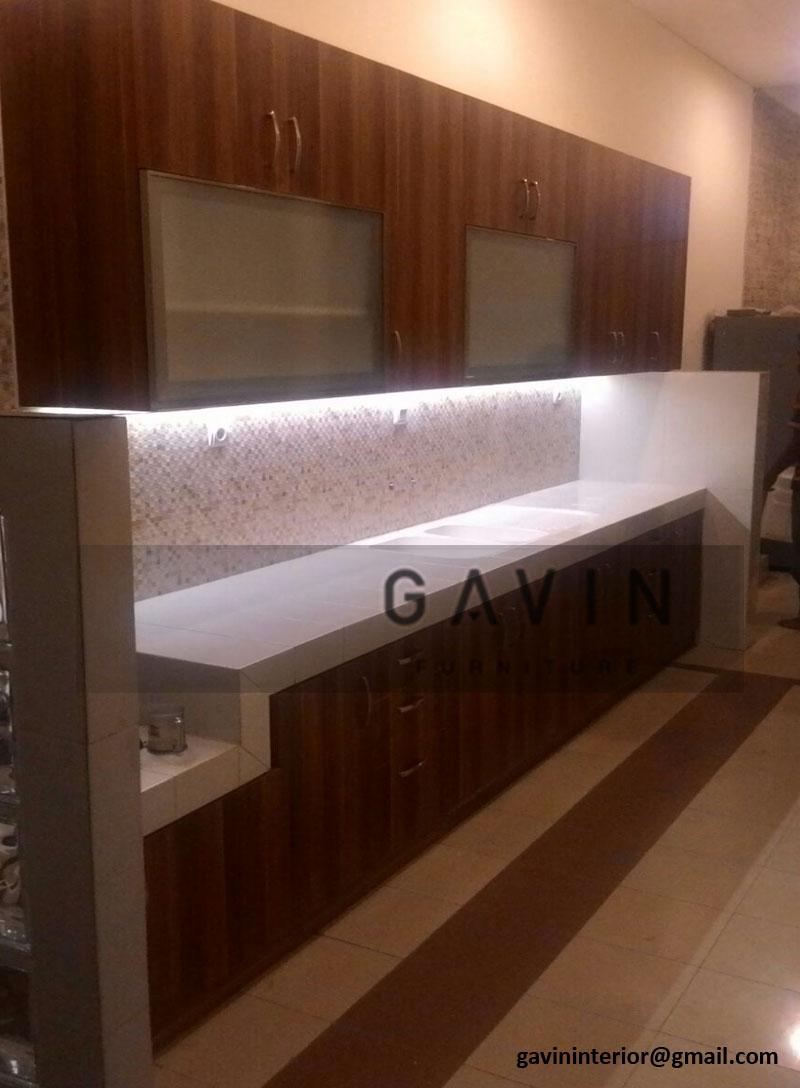 Harga pembuatan kitchen set kitchen set bintaro for Harga buat kitchen set