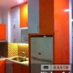 Kitchen Set Finishing HPL Kombinasi Warna