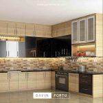 Pembuatan Kitchen Set minimalis modern
