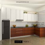 design kitchen set minimalis modern terbaru 2020
