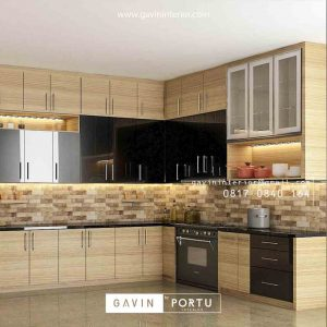 Design Kitchen Set minimalis modern favotif 2020