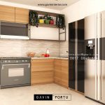 Model Kitchen set Terbaru minimalis modern