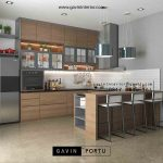 gambar model kitchen set terbaru
