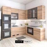 Jual Kitchen Cabinets HPL Motif kayu Id4842PT