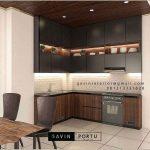 Jual Kitchen Cabinets Minimalis Modern Terbaik ID4373PT