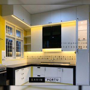 Jual Kitchen Set HPL Putih Haji Hasan Baru Pasar Rebo Jakarta ID4624PT