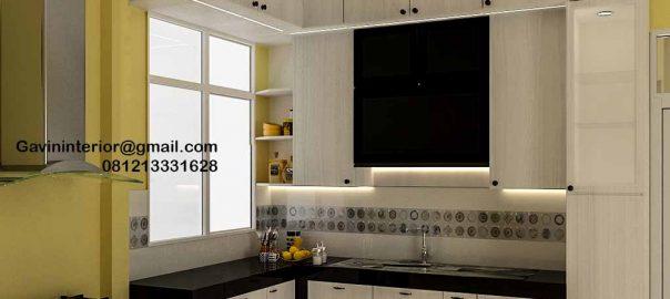 Kitchen Set HPL Putih Haji Hasan Baru Pasar Rebo Jakarta ID4624PT