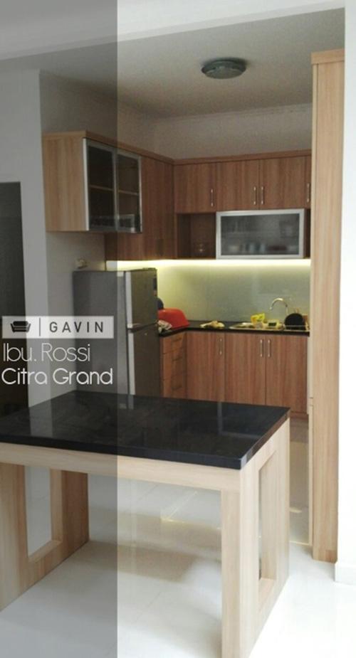 kitchen set  minimalis  apartemen Kitchen set  Bintaro