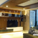 Backdrop TV Minimalis Modern Project Di Kemang By Gavin