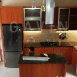 Harga Kitchen Set Minimalis Modern Warna Coklat
