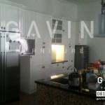 Kitchen Set Klasik Dengan Finishing Duco