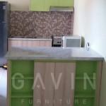 Kitchen Set Minimalis Dengan Minibar