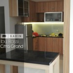 Kitchen Set Minimalis Dengan Minibar Di Citra Grand Cibubur