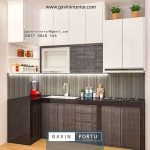 kitchen set minimalis finishing HPL