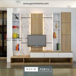Ide Desain Backdrop TV Bikin Semakin Cantik Tampilan Ruangan