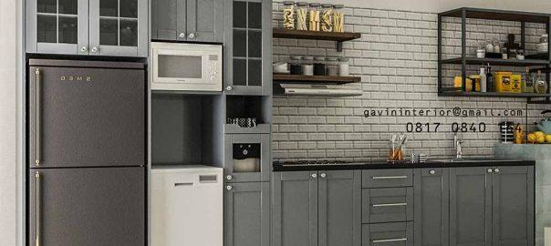 10 Desain Kitchen Cabinets Dapur Cantik